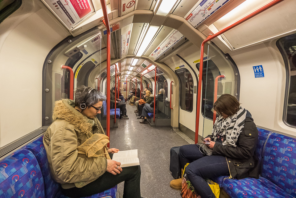 Метро в Лондоне