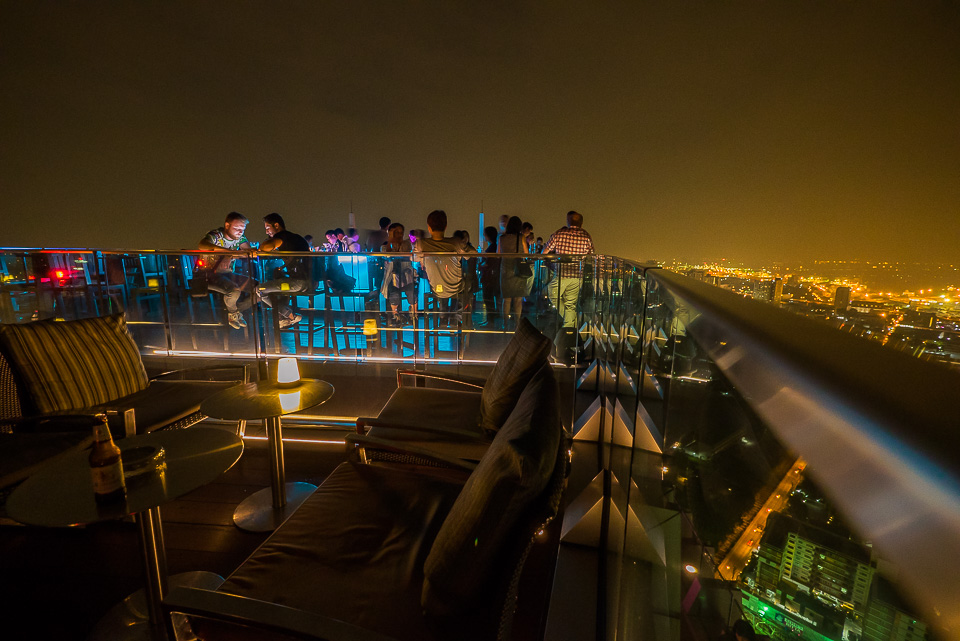 Octave Rooftop Bar at Bangkok Marriott