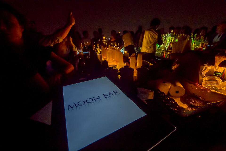 Moon Bar in Banyan Tree Hotel