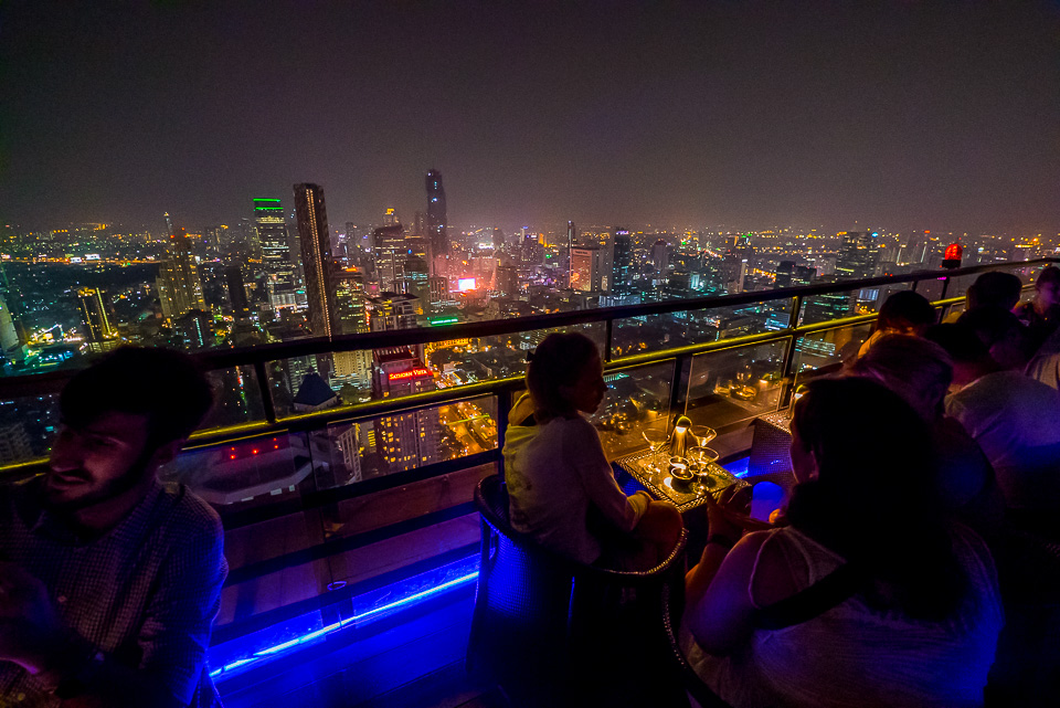 Moon Bar in Banyan Tree Hotel