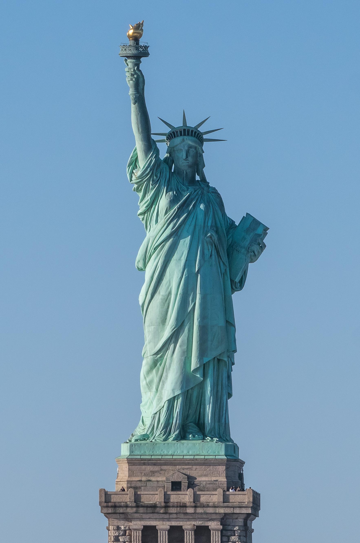 Картинки нью йорка статуя свободы, открытки