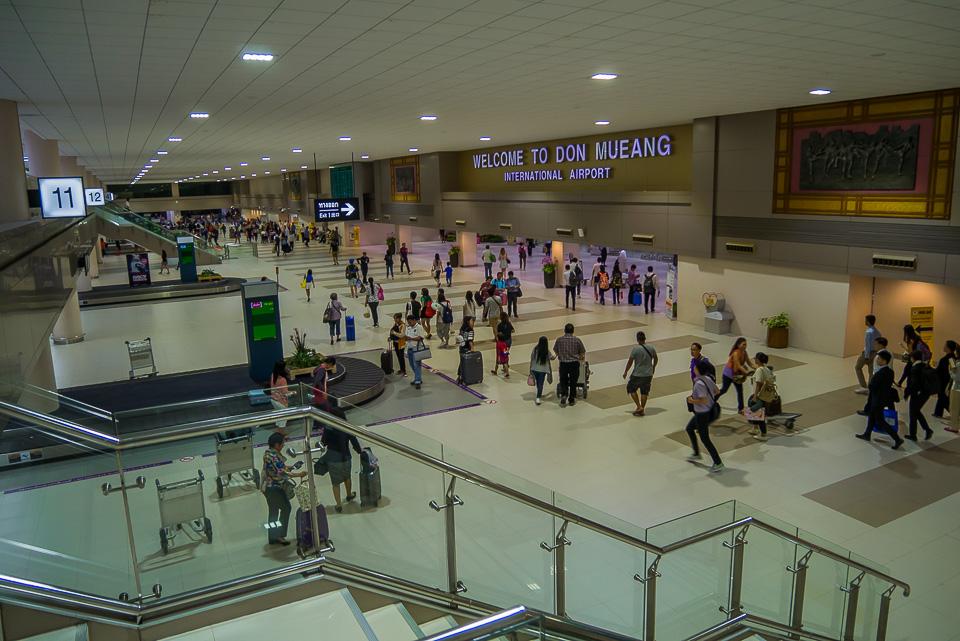 Обновленный зал прилета аэропорта Донг-Муанг в 2016 году