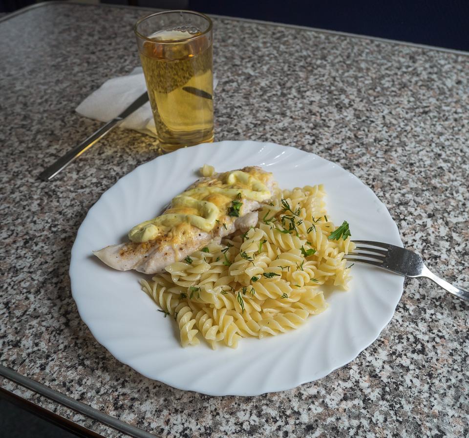 Вагон-ресторан в поезде 004В Белгород-Москва