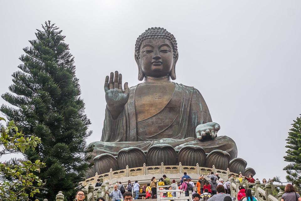 Большой Будда в Гонконге