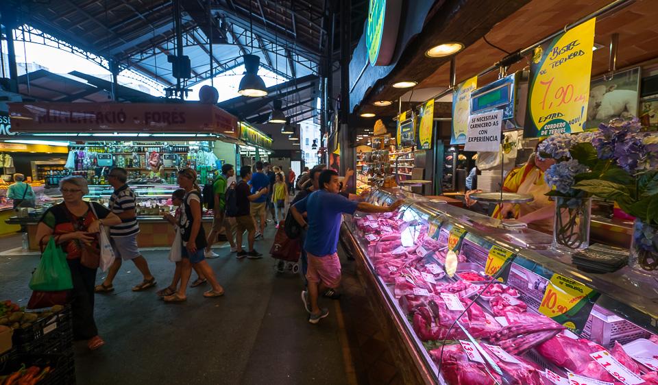 Бокерия - городской рынок Барселоны