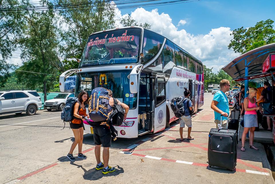 Из Бангкока на Самуи через Сураттани