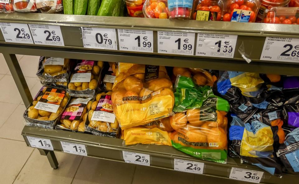 Цены в Брюсселе (Бельгия)