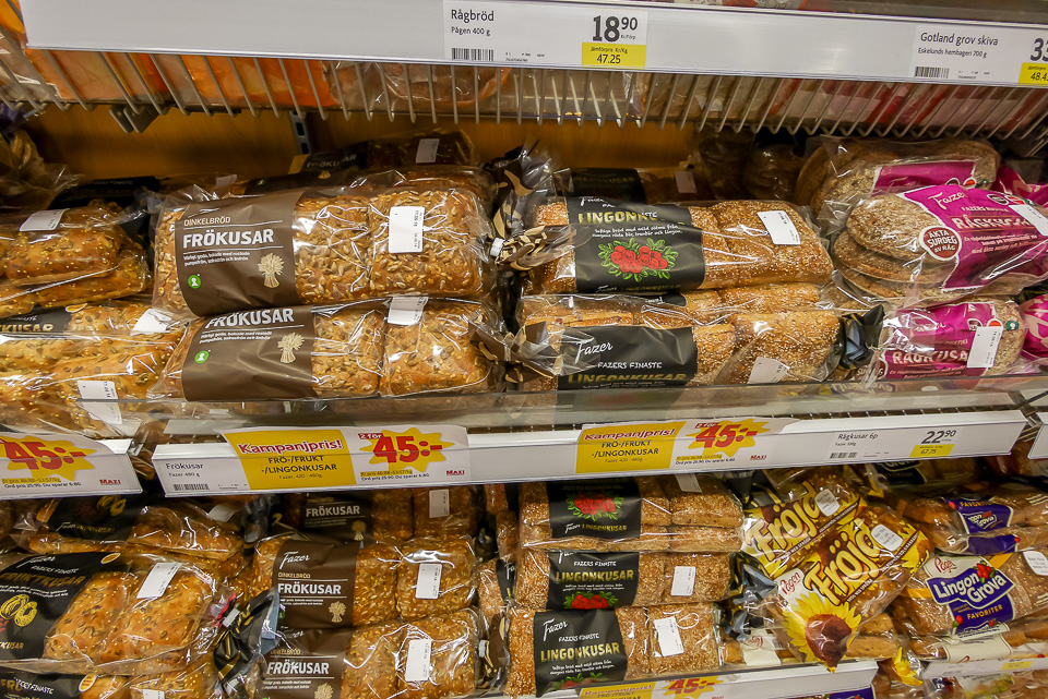 Цены в Стокгольме в Швеции