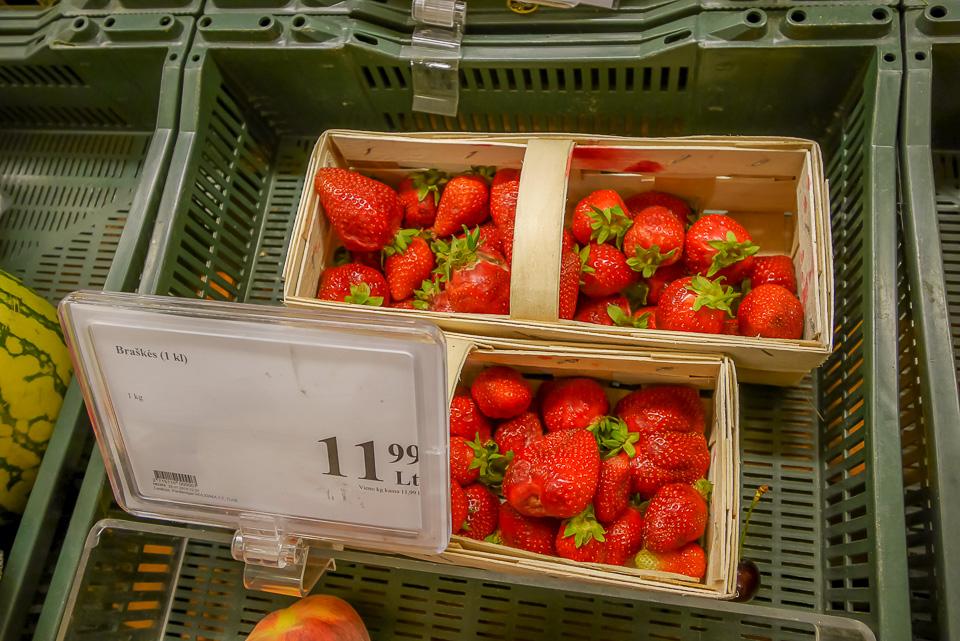 Цены в Ниде, Литва