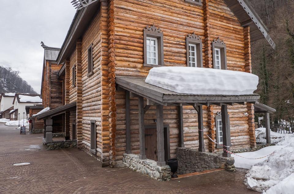 Этнопарк Моя Россия, Роза-Хутор, Сочи