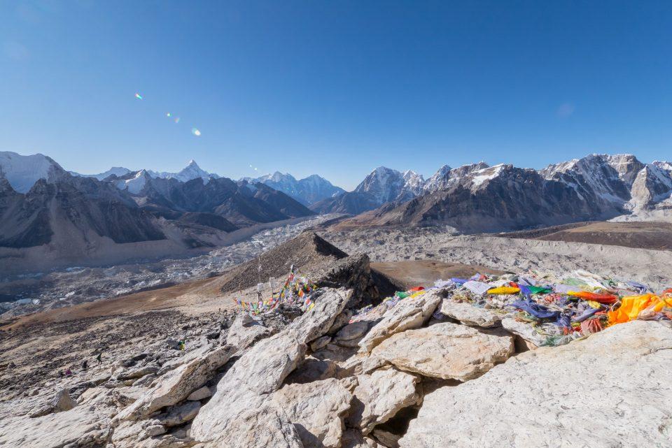 Виды с вершины Кала-Паттар