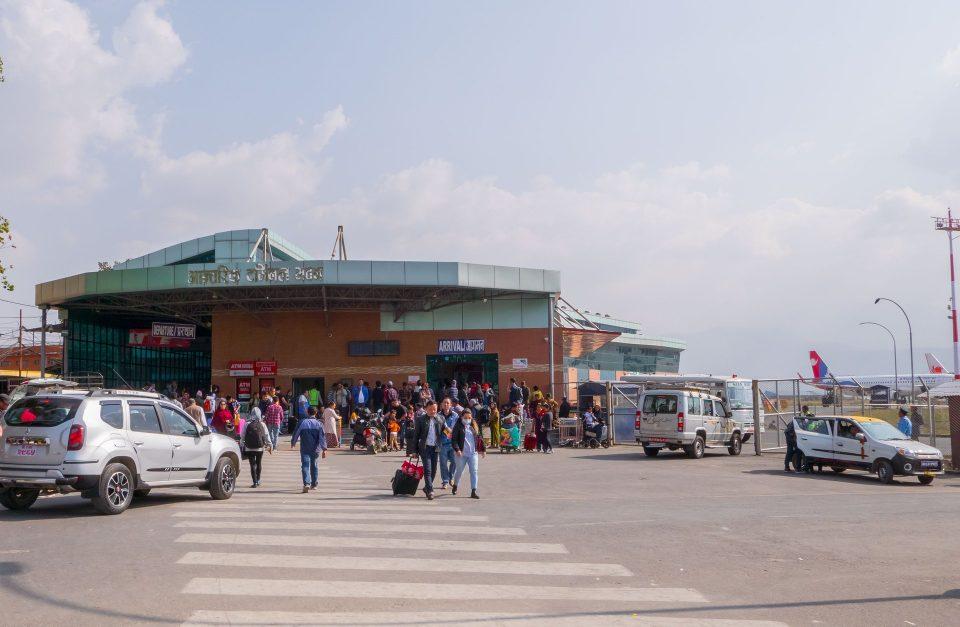 Аэропорт в Катманду