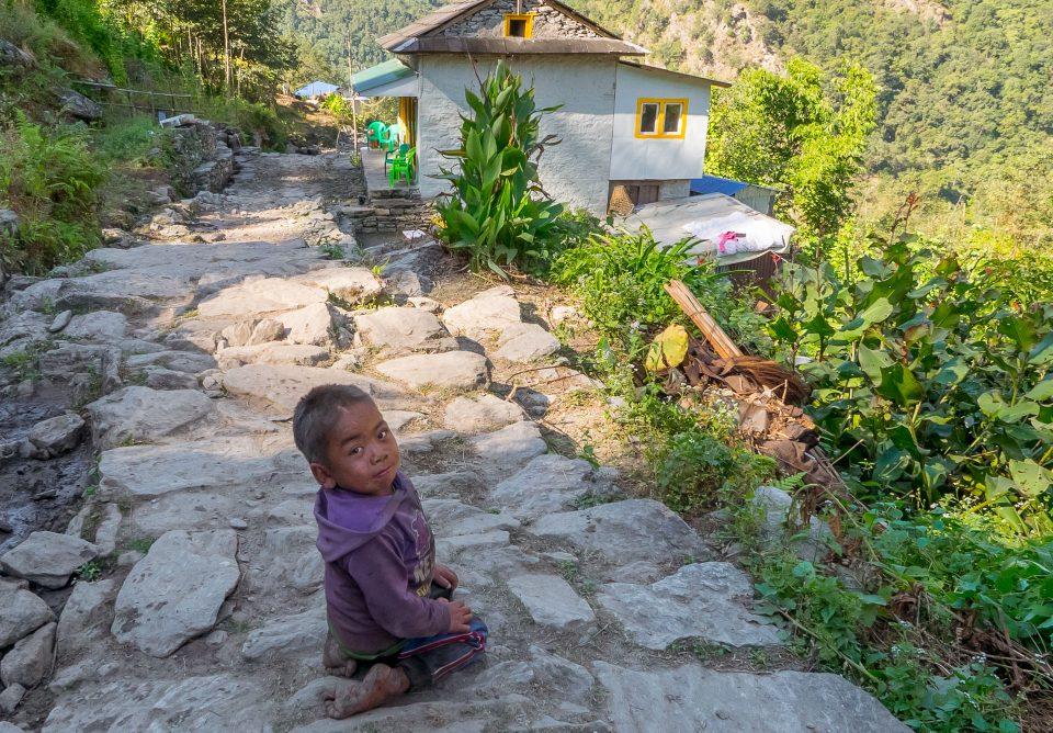 Ребенок в Джубинге