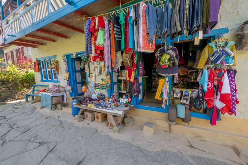 Магазинчик в Джубинге