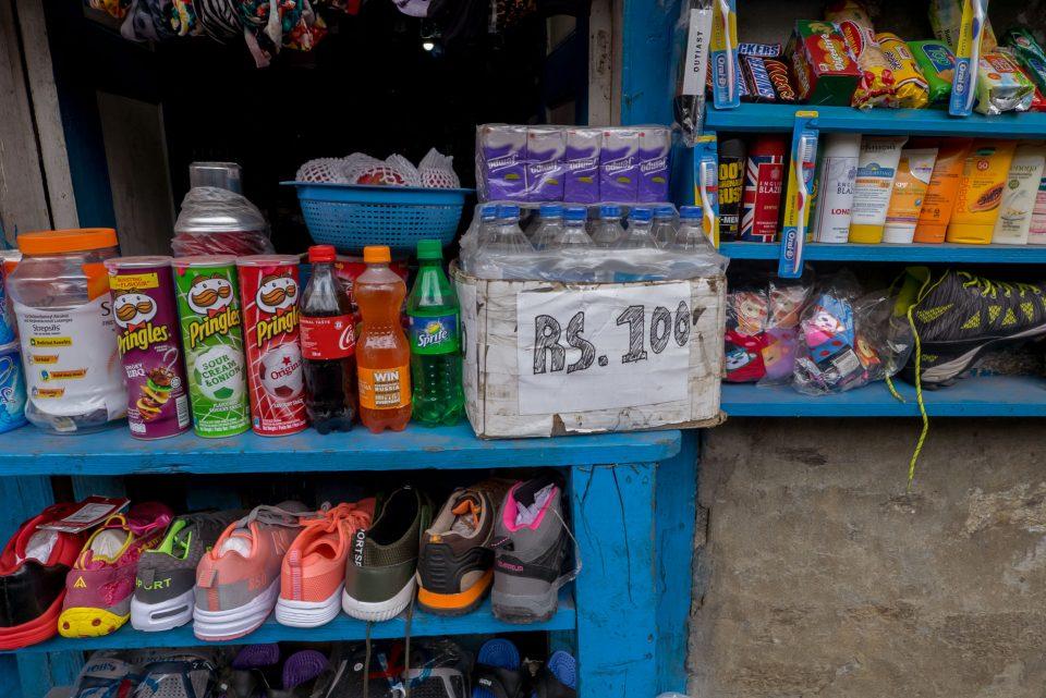 Вода в пакдинге 100 рупий