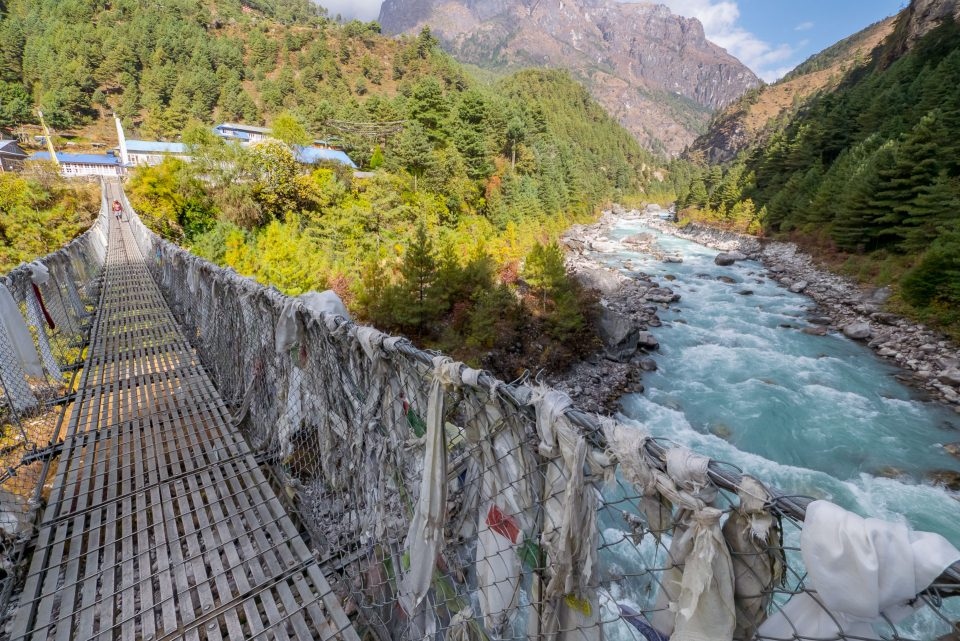 Мост через реку Дуд Коси