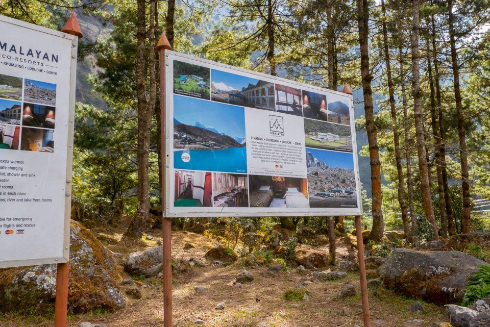 Плакат Гималайского эко резорта