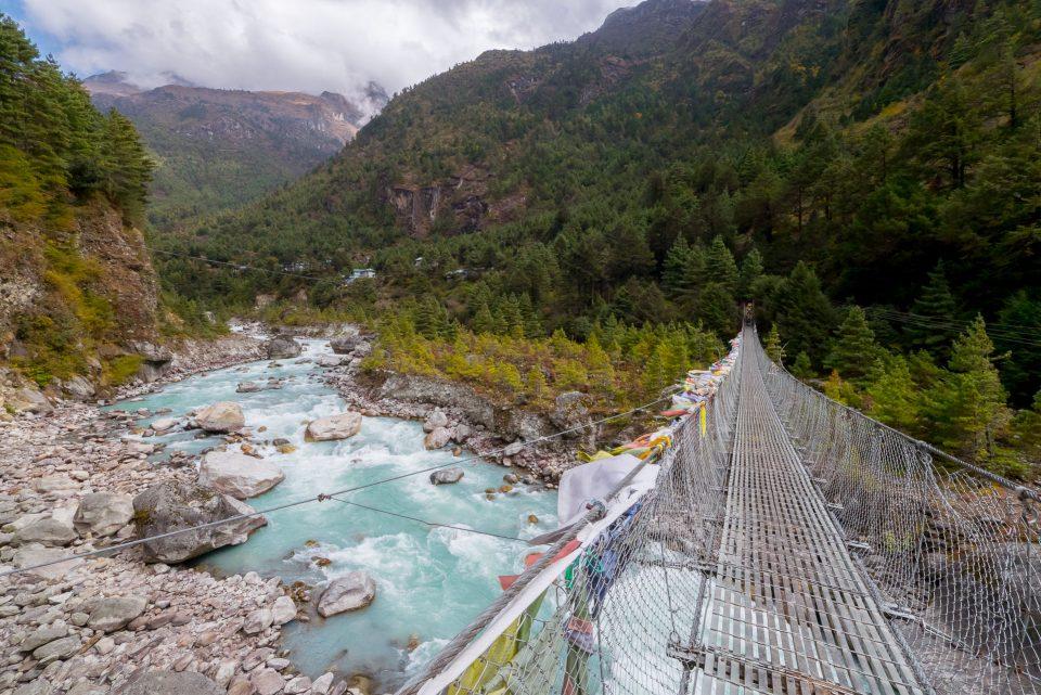 Мост между Chumoa и Monjo