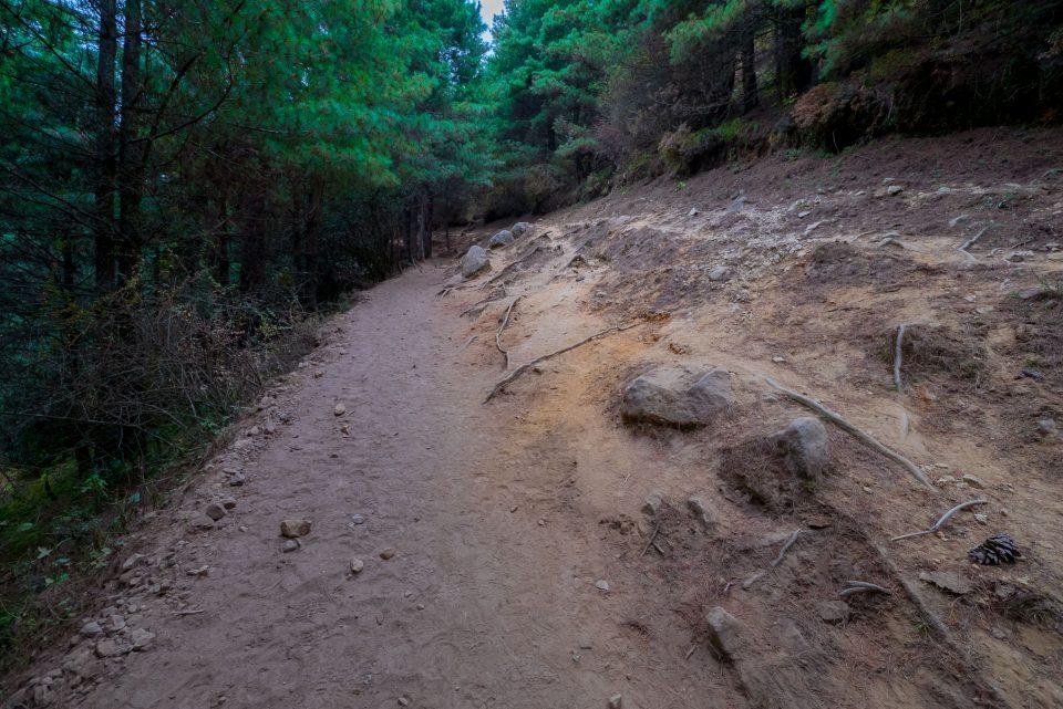 Дорога после моста к Намче-Базар