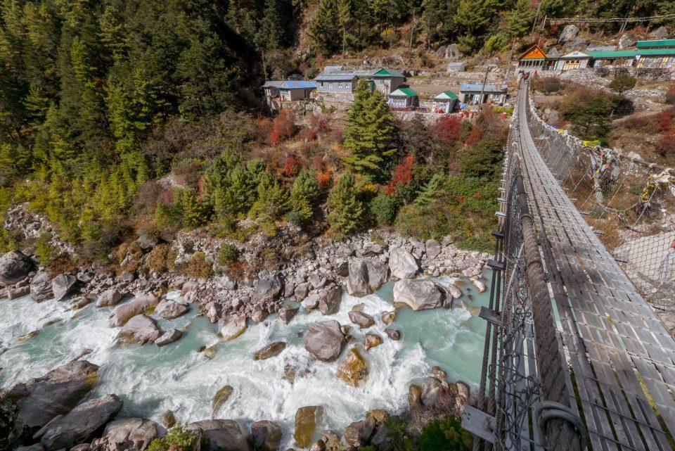 Мост через реку Имджа Кхола