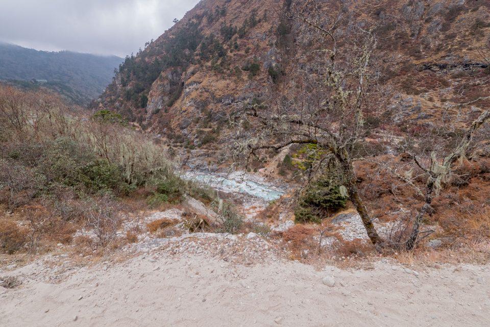 Тропа и река