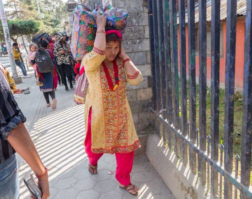 Женщина в Катманду