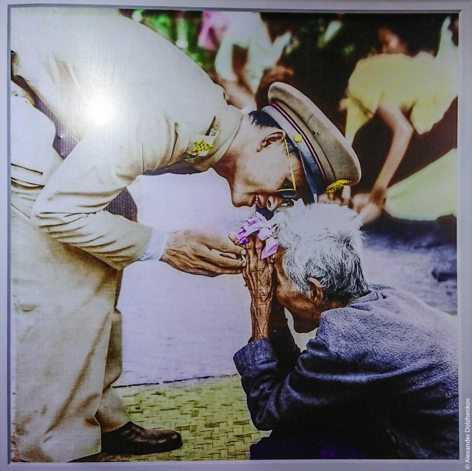 Король Рама 9 и бабушка