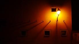 Свет во дворе
